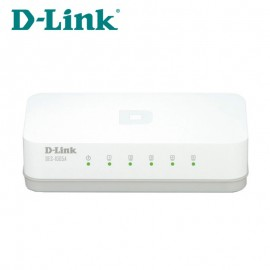 image of Official D-Link DES-1005A 5-Port 10/100 Mbps Fast Ethernet Desktop Switch