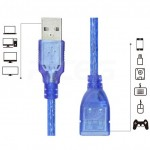 1.5/3/5/10 Meter USB 2.0 Extension Data Cable Cord for PC & Mac Computers