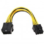 PCI-E 8Pin Male To 8Pin Female PCI Express Power Extension Cable (T14-7)