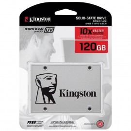 image of Official Kingston UV400 120GB SSD Super Fast R/W Speed Up To:550mb/s (T15-11)