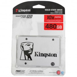 image of Official Kingston UV400 480GB SSD Super Fast R/W Speed Up To:550mb/s (T15-11)