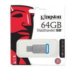 Official 64GB Kingston DataTraveler 50 - USB 3.1 Gen 1 (USB 3.0)