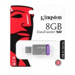 Official 8GB Kingston DataTraveler 50 - USB 3.1 Gen 1 (USB 3.0)