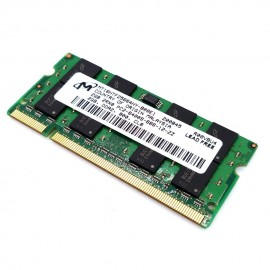 image of 100% working Micron 2GB DDR2 800Mhz Laptop SODIMM RAM Without Packing Box(T11-4)