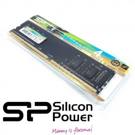 image of Silicon Power 4GB DDR4 2400MHz Desktop DIMM RAM Lifetime warranty