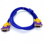 1.5M High Quality VGA Cable (3+9) Support resolutions up to 1920 x 1200