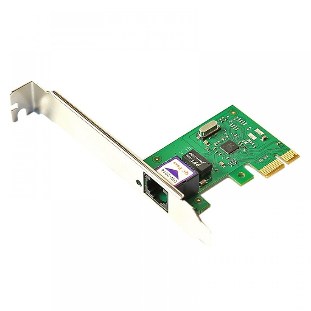 10/100M Ethernet LAN PCI Express PCI e Network Controller Card New R8211 chipest