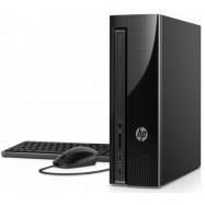 image of Official HP Slimline 260-a121d Desktop PC TA J3060, 4GB, 500GB, Intel, W10