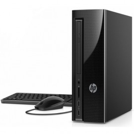 image of Official HP SlimLine 260-a124d PC Desktop Intel Pentium J3710/4GB D3/500GB/W10