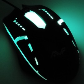 image of Official AVF Gaming Gears RAPID 4 Optical Gaming Mouse with Colourful Backlight