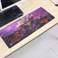 image of Dota2 DT66 80 x 30 x 0.2cm Gaming Mat Non-slip Anti Fray Stitching Mouse Pad