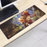 Dota2 DT13 80 x 30 x 0.2cm Gaming Mat Non-slip Anti Fray Stitching Mouse Pad