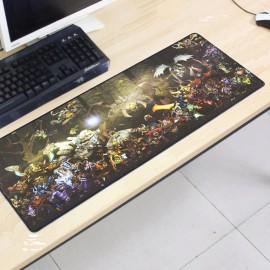 image of Dota2 DT20 80 x 30 x 0.2cm Gaming Mat Non-slip Anti Fray Stitching Mouse Pad
