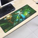 Dota2 DT117 80 x 30 x 0.2cm Gaming Mat Non-slip Anti Fray Stitching Mouse Pad