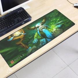 image of Dota2 DT117 80 x 30 x 0.2cm Gaming Mat Non-slip Anti Fray Stitching Mouse Pad