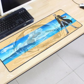 image of One Piece OP57 80 x 30 x 0.2cm Gaming Mat Non-slip Anti Fray Stitching Mouse Pad