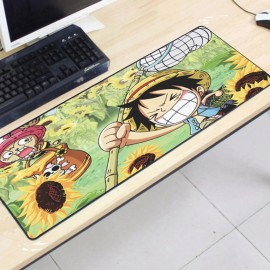 image of One Piece OP18 80 x 30 x 0.2cm Gaming Mat Non-slip Anti Fray Stitching Mouse Pad