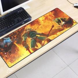 image of Dota2 DT62 80 x 30 x 0.2cm Gaming Mat Non-slip Anti Fray Stitching Mouse Pad