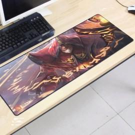 image of Dota2 DT16 80 x 30 x 0.2cm Gaming Mat Non-slip Anti Fray Stitching Mouse Pad