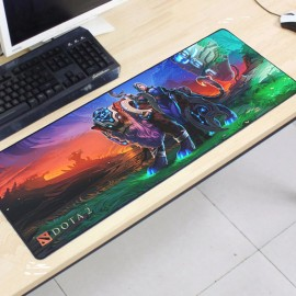 image of Dota2 DT32 80 x 30 x 0.2cm Gaming Mat Non-slip Anti Fray Stitching Mouse Pad