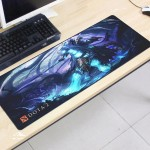 Dota2 DT70 80 x 30 x 0.2cm Gaming Mat Non-slip Anti Fray Stitching Mouse Pad