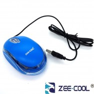 image of Zee-Cool Acc304 Color Wired Usb Optical Mouse with LED Light (G3)
