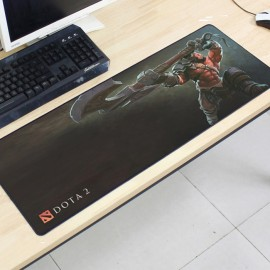 image of Dota2 DT15 80 x 30 x 0.2cm Gaming Mat Non-slip Anti Fray Stitching Mouse Pad