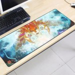 Dota2 DT21 80 x 30 x 0.2cm Gaming Mat Non-slip Anti Fray Stitching Mouse Pad