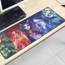 image of Dota2 DT149 80 x 30 x 0.2cm Gaming Mat Non-slip Anti Fray Stitching Mouse Pad