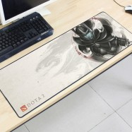 image of Dota2 DT02 80 x 30 x 0.2cm Gaming Mat Non-slip Anti Fray Stitching Mouse Pad