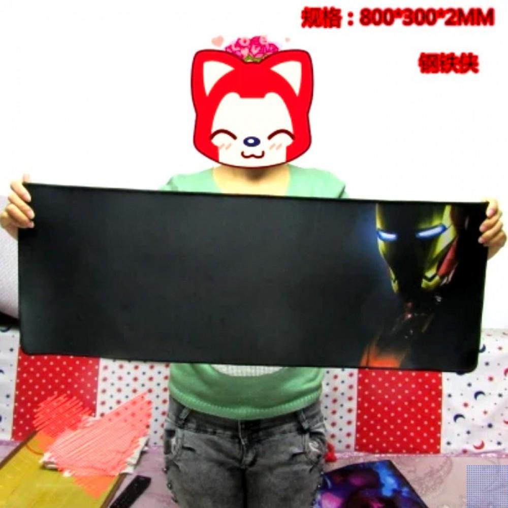 AIM 3-4 Iron Man 80 x 30 x 0.2cm Gaming Mat Non-slip AntiFray Stitching MousePad