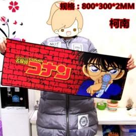 image of Conan Edogawa A08 80 x30x0.2cm Gaming Mat Non-slip Anti Fray Stitching Mouse Pad