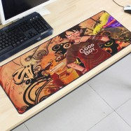 image of One Piece OP32 80 x 30 x 0.2cm Gaming Mat Non-slip Anti Fray Stitching Mouse Pad
