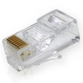 image of Rj-45 Cat5e Modular Plug Network Connector (E2-2)