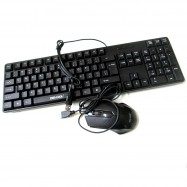 image of Official Zee-Cool Km2 Waterproof Office Keyboard & Mouse Combo Set