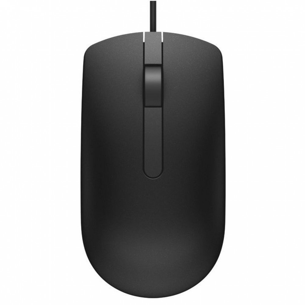 Official Dell MS116 USB 3 Button Optical Mouse with 1000dpi Sensitivity