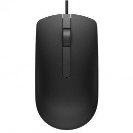 image of Official Dell MS116 USB 3 Button Optical Mouse with 1000dpi Sensitivity