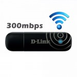 Official D-Link 300Mbps USB Wireless N WiFi Adapter DWA-132 with WPS