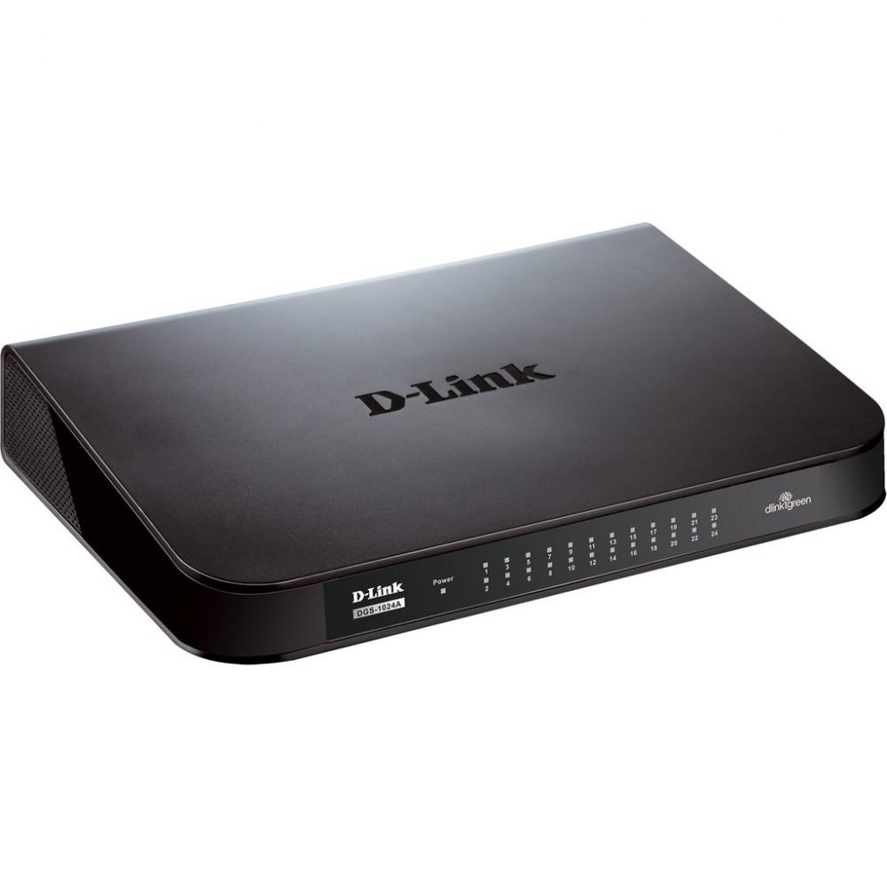 Official D-Link DGS-1024A DGS-1024A 24 Port Unmanaged Gigabit Switch