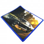 Small Size 23*19CM Gaming Mat Non-slip Anti Fray Stitching Car Mouse Pad
