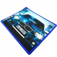 image of Small Size 23*19CM Gaming Mat Non-slip Anti Fray Stitching Car Mouse Pad