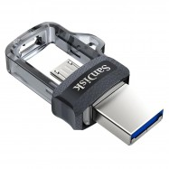 image of Official 64GB SanDisk USB3.0 Ultra Dual OTG Drive M3.0