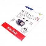 Official 64GB SanDisk USB3.0 Ultra Dual OTG Drive M3.0