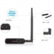 image of Official D-LINK DWA-137 High Gain 300Mbps 5dBi Antenn USB Wireless WiFi Adapter
