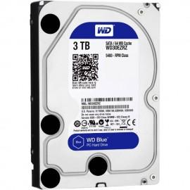image of Western Digital WD Blue 3000GB / 3TB Internal 3.5 Sata Hard Drive 5400RPM 64MB