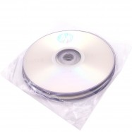 image of 10Pcs Official HP DVD-R 16X 4.7GB 120Min Bulk Pack