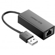 image of UGreen USB 2.0 10/100 Ethernet Network Adapter (P8-3)