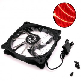 image of Imperion Supernova 120 FA-G12 Silent Edition 12CM LED Fan (Red)