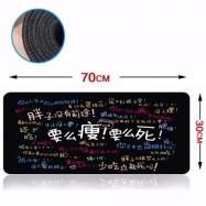 image of 70 x 30 x 0.2cm Gaming Mat Non-slip Anti Fray Stitching Beautiful Mouse Pad
