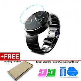 image of Moto 360 46mm Tempered Glass Screen Protector